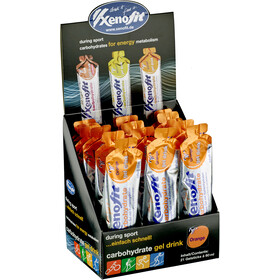 Xenofit Boîte Gels hydro carbohydrates 21x60ml, Orange